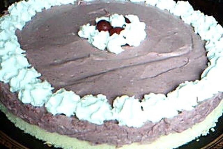 Gâteau mûres, amandes et vanille allégé