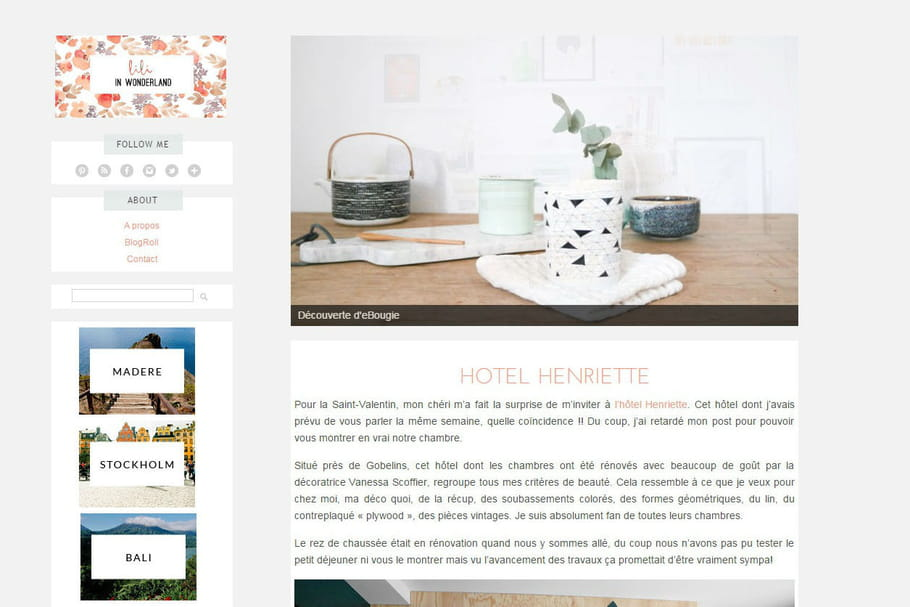 Le blog du moment : Lili in wonderland