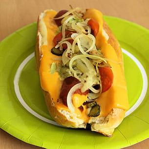 hot dog usa à ma façon
