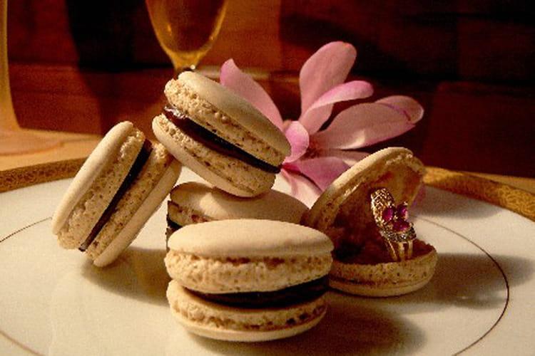 Macarons chocolat-orange