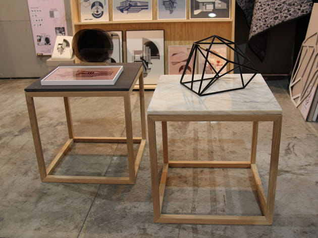 Table basse Cube de Kristina Dam