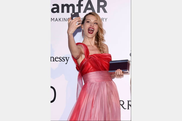 Petra Nemcova, très selfie