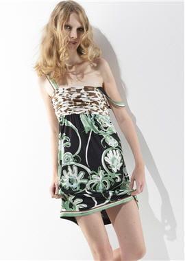 robe imprimée d'emiliopucci
