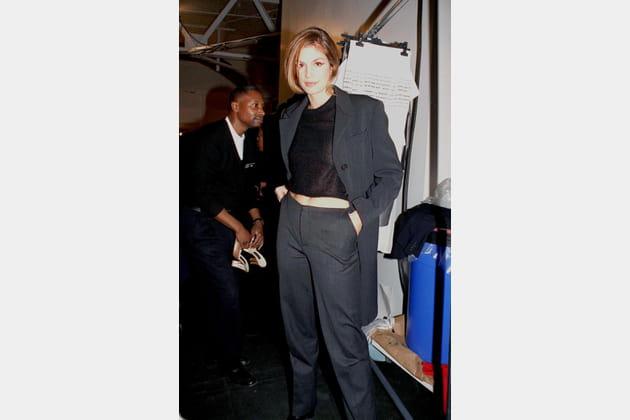 Cindy Crawford le 4novembre 1997