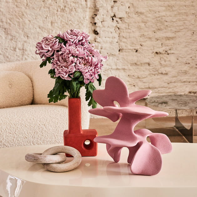 Des vases sculptures