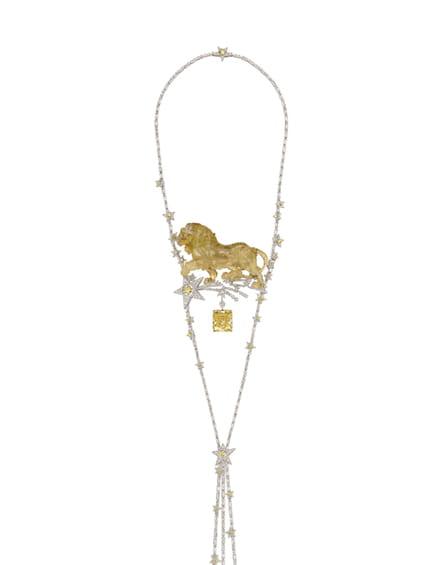 """Le collier """"Constellation du Lion"""""""