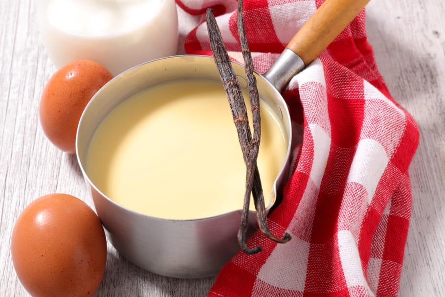 Comment faire une crème anglaise express?