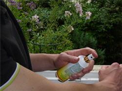 la durée de protection des répulsifs cutanés varie selon les produits et dépend