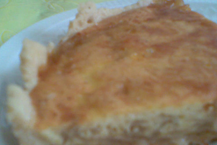 Tarte à l'oignon traditionnelle