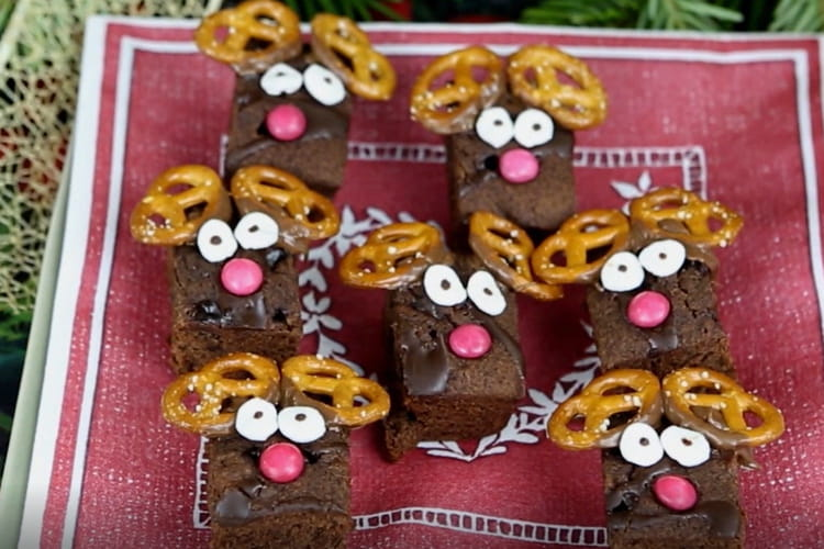 Mini brownies rennes