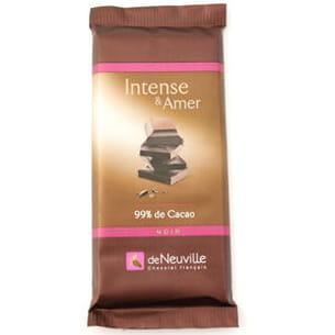 tablette 99 % de cacao de neuville