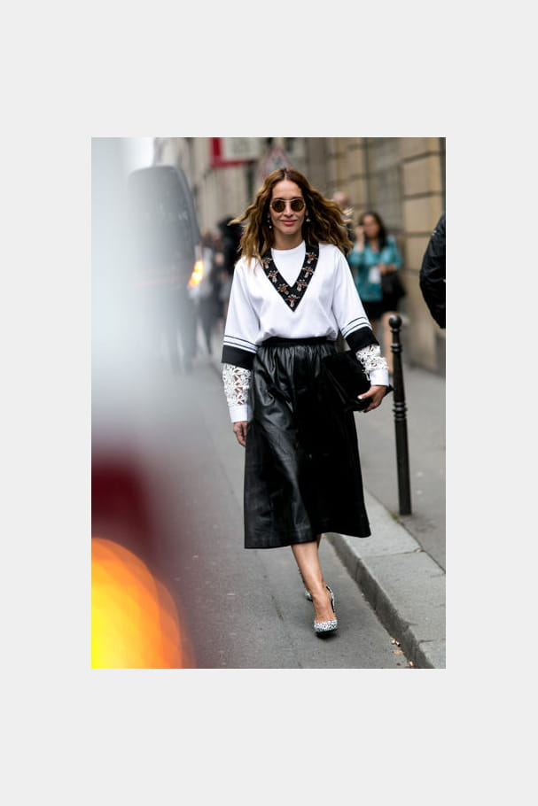 Street looks fashion week haute couture : barock