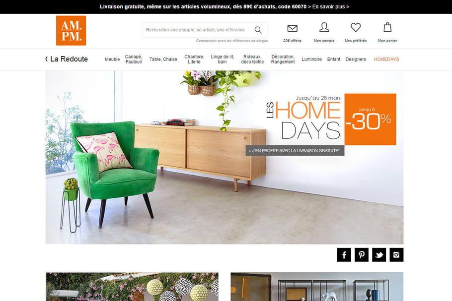 d co tendance en ligne sur. Black Bedroom Furniture Sets. Home Design Ideas