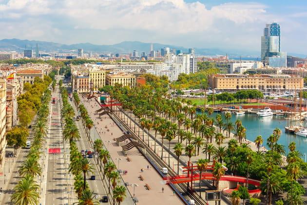 3e: Barcelone, le parfait mixte entre culture et plage