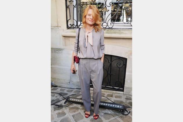 Mélanie Thierry chez Giorgio Armani Privé