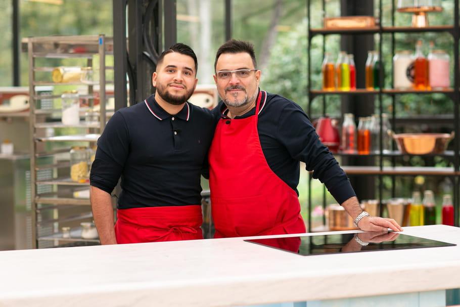 Antonio et Christian: le duo père et fils du Meilleur Pâtissier Les Professionnels