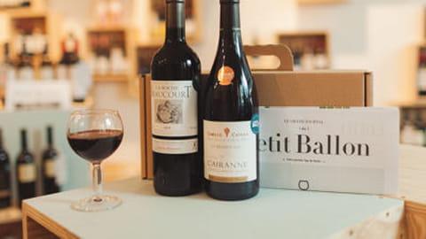 Le Petit Ballon box novembre fromage vin