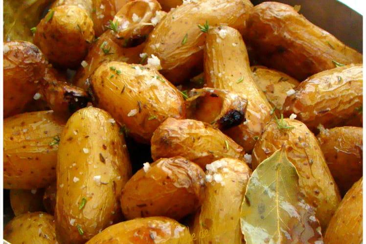 Pommes de terre grenailles aux herbes aromatiques et sel de Guérande