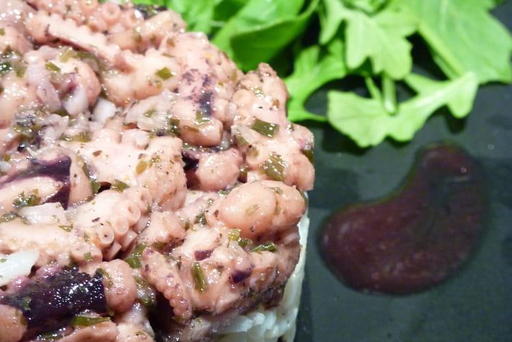 Salade tiède de poulpe
