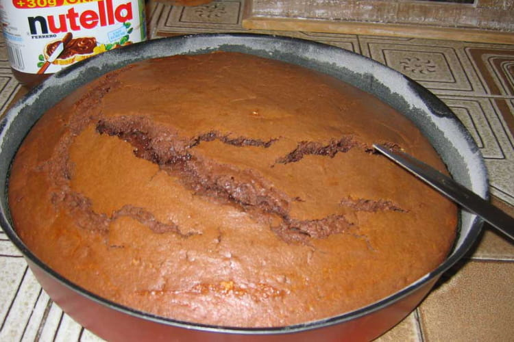 Fondant au Nutella