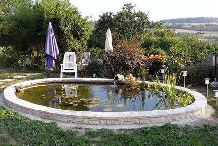 Pour le plus grand plaisir des poissons les plus beaux bassins journal des femmes for Bassin de jardin grand volume