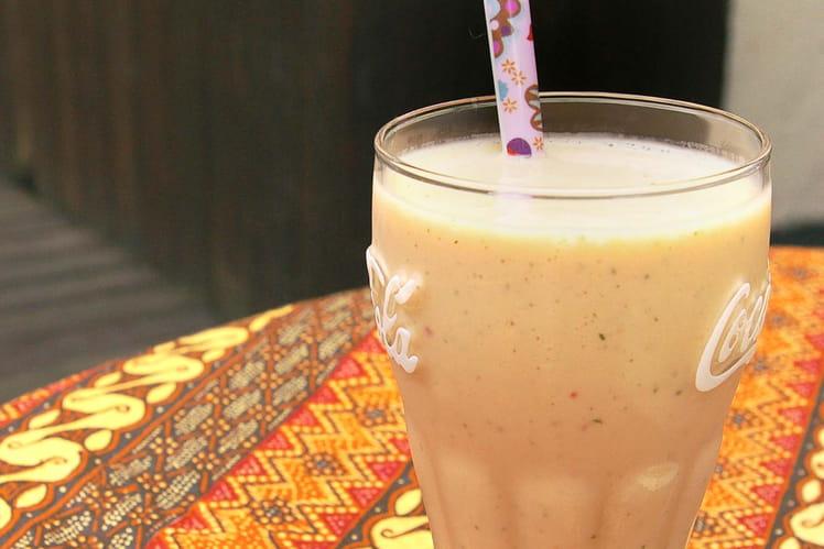 Milk-shake Sweety Freeze (pêche/menthe)