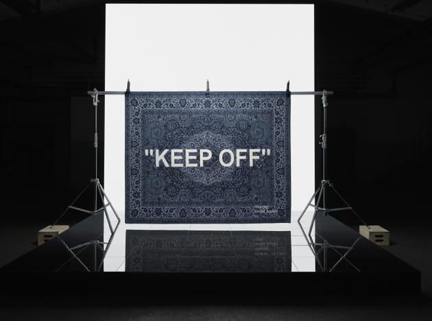 Tapis Virgil Abloh pour IKEA