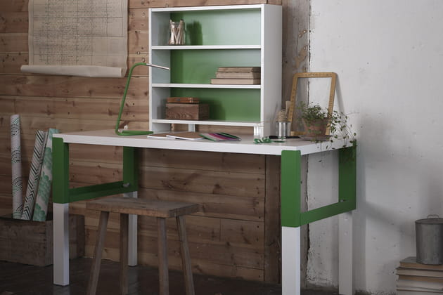 Bureau modulable et réglable IKEA