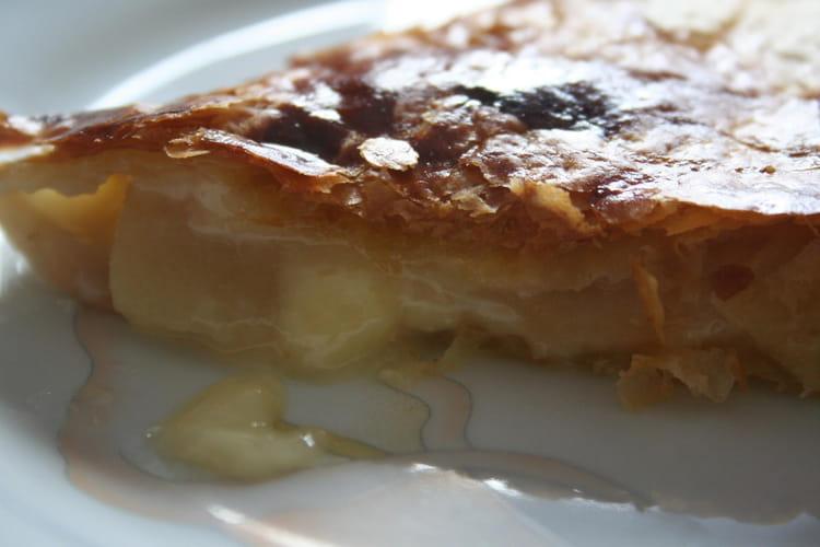 Chausson aux pommes et camembert