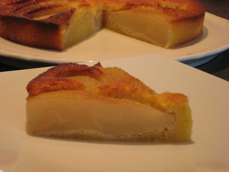 recette de gâteau poire-amande : la recette facile