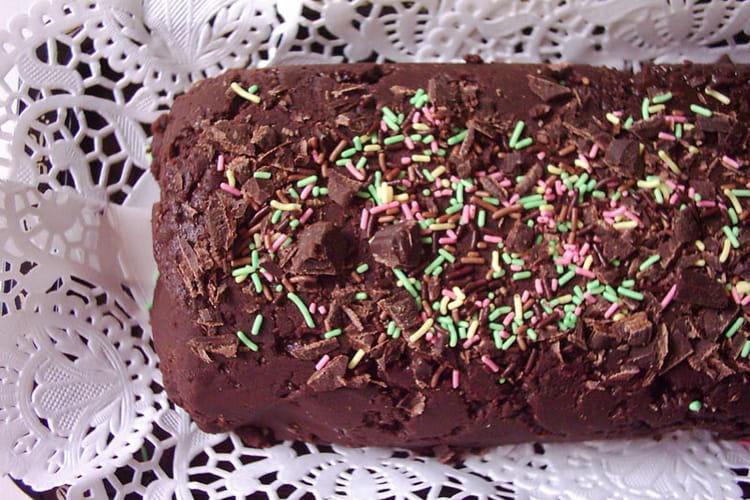 Cake au chocolat et marshmallow