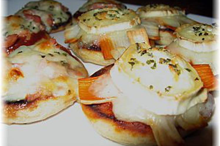 Muffins anglais façon mini pizzas