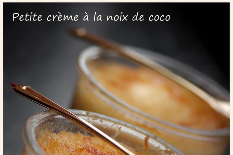 Petite crème à la noix de coco