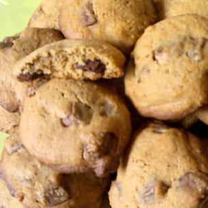 cookies noisettes et pralinoise au lait concentré