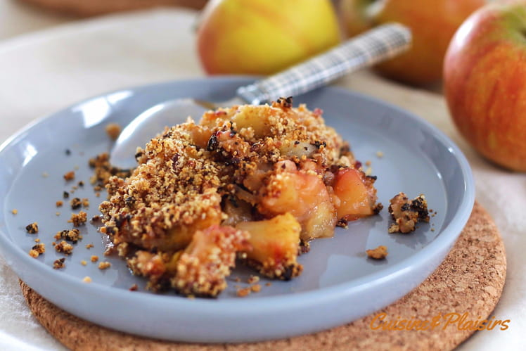 #crumble_pomme