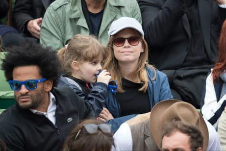Isabelle Carré et son fils