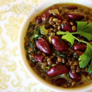 dhal curry - la soupe des lentilles