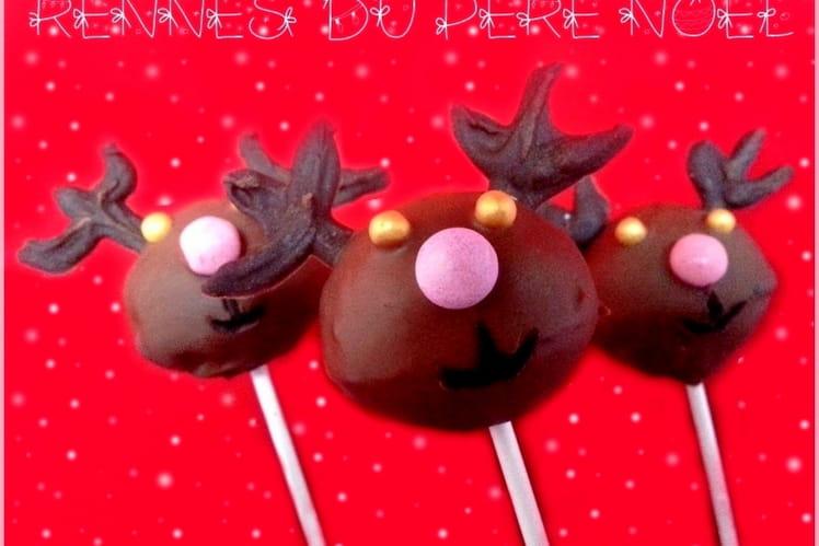 Cake pops rennes du Père Noël