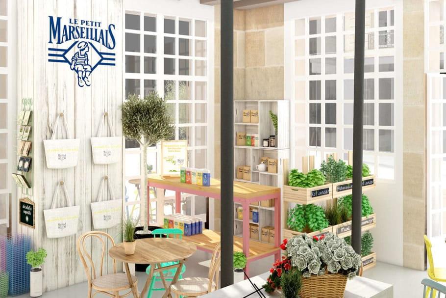 Le Petit Marseillais ouvre sa boutique éphémère