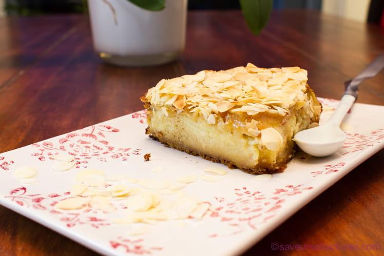 Gâteau croustifondant aux pommes