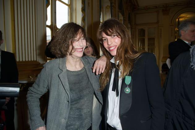 Avec Lou Doillon en 2013