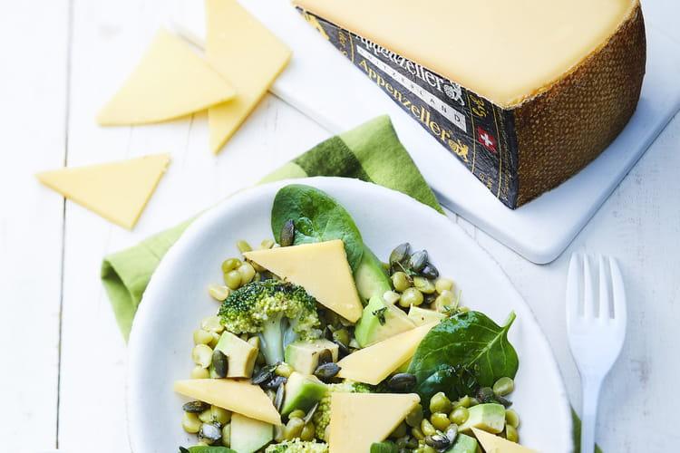 Salade toute verte à l'Appenzeller® Extra