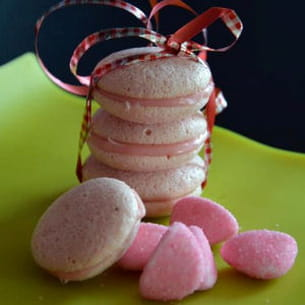 macaron aux bonbons tagada