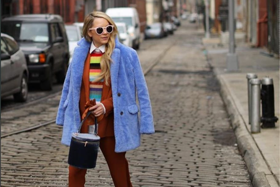 Le look blogueuse de la semaine: Blair Eadie, de bon ton