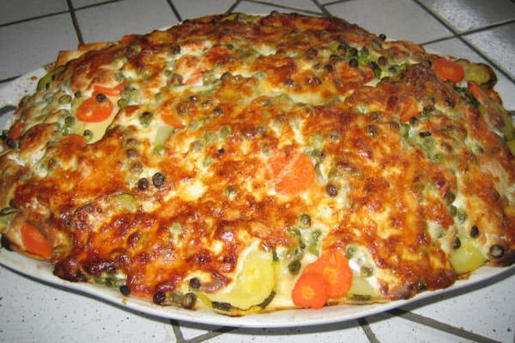 Lasagnes du printemps aux légumes