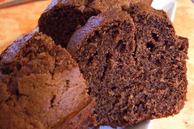 Cake au chocolat et aux zestes d'orange confits