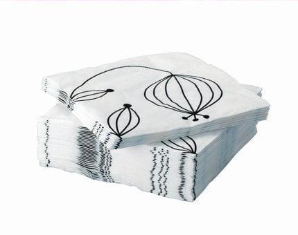 des plantes tranges sur les serviettes. Black Bedroom Furniture Sets. Home Design Ideas