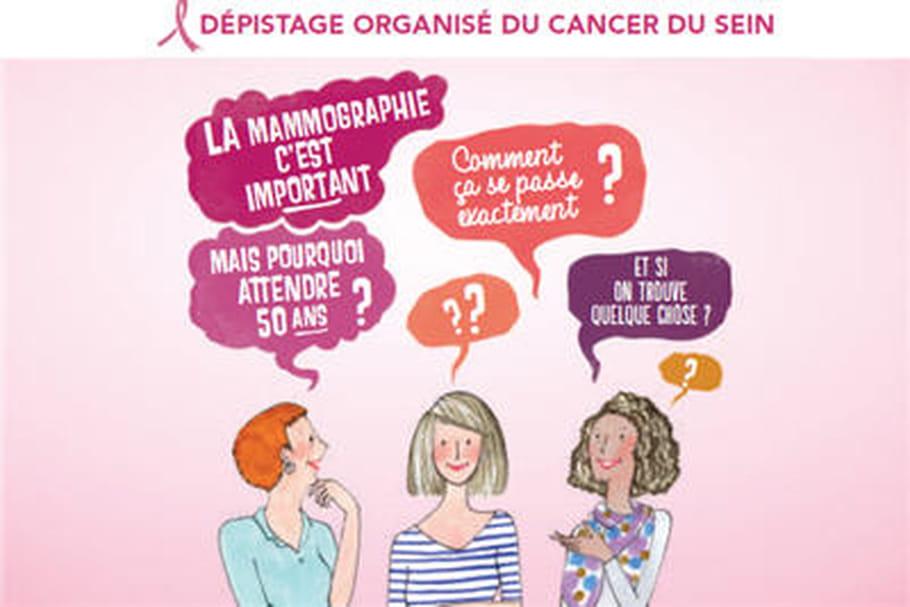 Octobre rose: la campagne pour le dépistage du cancer du sein est lancée