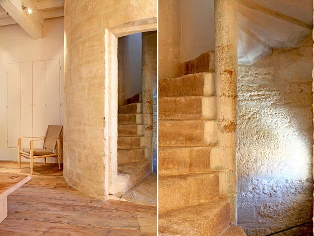 Escaliers à vis