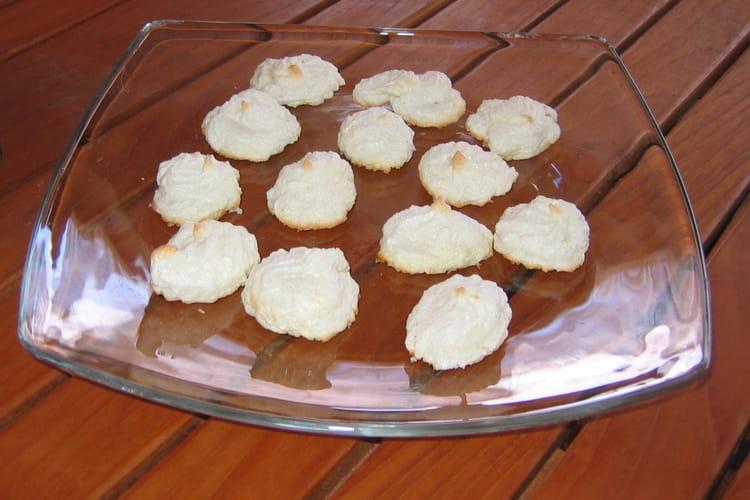 Meringues moelleuses à la noix de coco